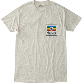 Hippy Tree Chromatic Camiseta Hombre, heather natural